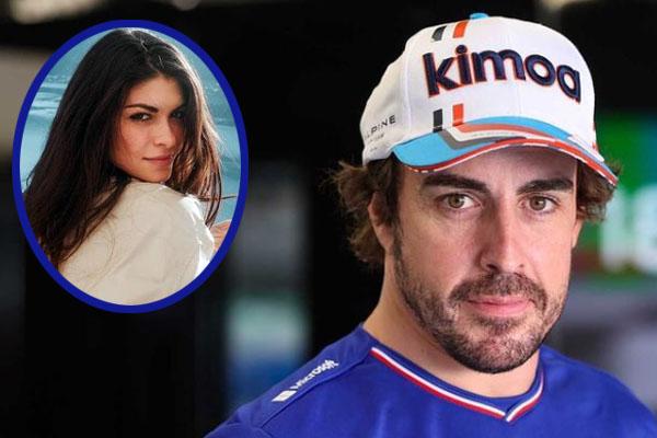 Fernando Alonso girlfriend, Linda Morselli