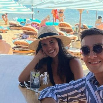 George Russell's Girlfriend Carmen Montero Mundt, A Business And Management Student