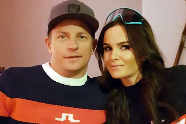 Kimi Räikkönen's wife, Minttu Räikkönen