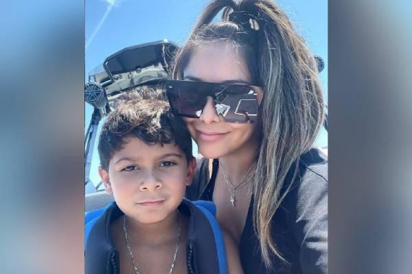 Nicole Polizzi aka Snooki's Son Lorenzo Dominic LaValle
