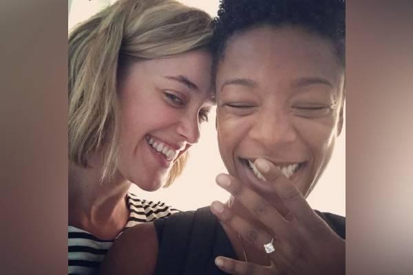 Lauren Morelli and Samira Wiley's relationship