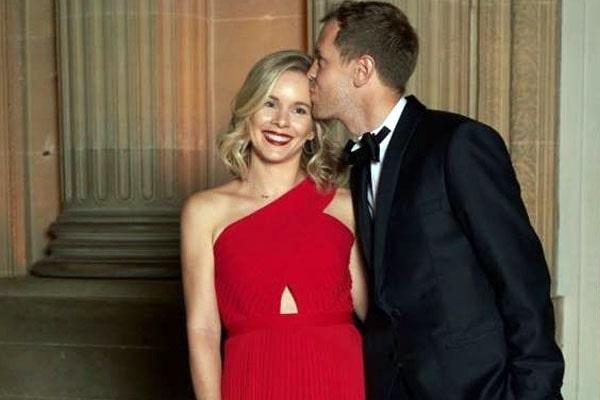 Sebastian Vettel wife, Hanna Prater
