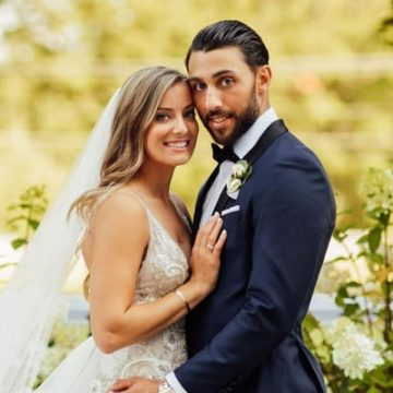Married Since 2019, Learn More About Vincent Trocheck's Wife, Hillary Trocheck
