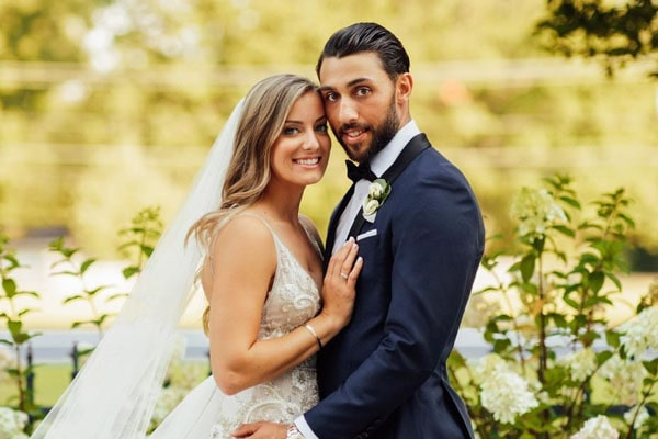 Vincent Trocheck's wife, Hillary Trocheck