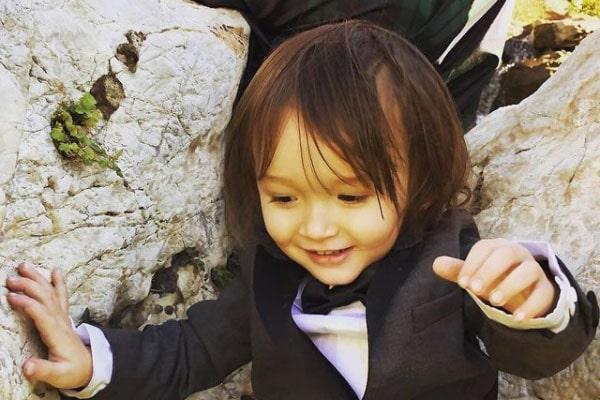 Mara Lane and Jonathan Rhys Meyers' son, Wolf Rhys Meyers
